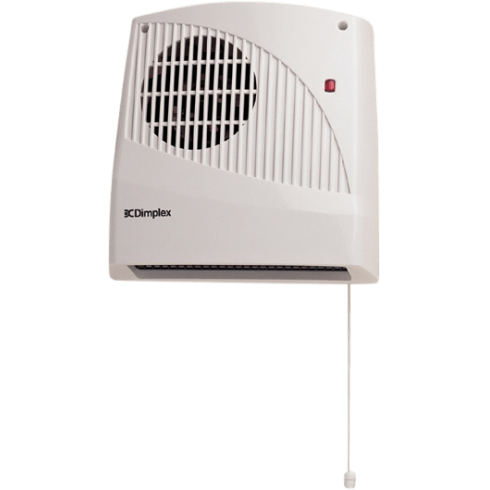 Dimplex 2kW E Timer Downflow Fan Heater With Pullcord