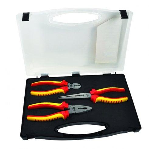 CK Tools 3 Piece Electrician's Plier Set