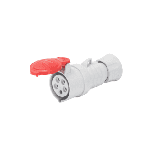 Gewiss 415V Straight Connector 4P + Earth 16A