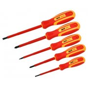5 Piece Insulated Screwdriver Set
