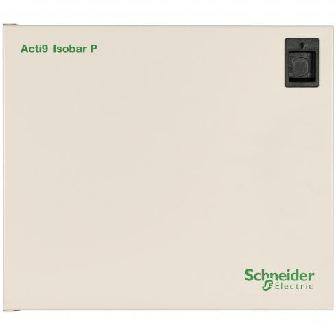 Merlin Gerin, Schneider 6 Way Single Phase Distribution Board