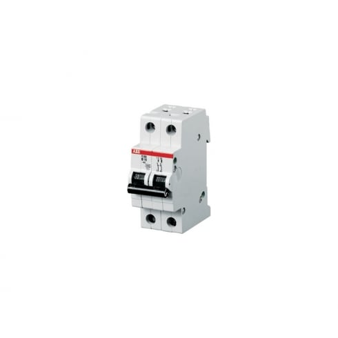 ABB 6A MCB 10kA Double Pole Type C