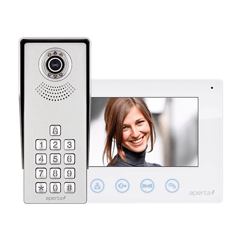 Elite Security Products Aperta Colour Video Door Entry Keypad System