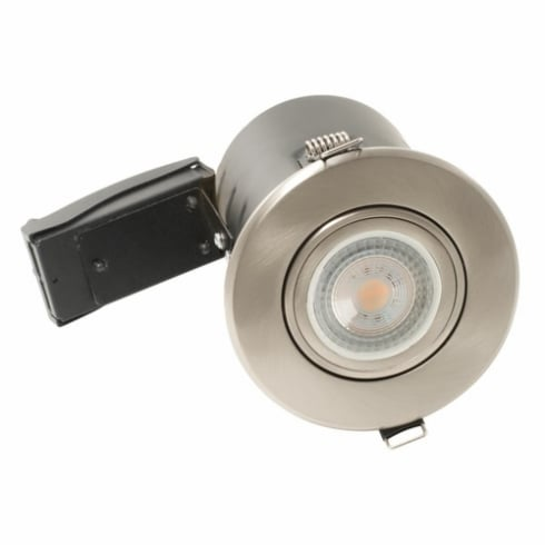 BG Electrical LED Downlight GU10 Tiltable Fire Rated