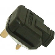 Masterplug Plug 13 Amp Rubber Black