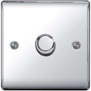 Nexus Dimmer 400W 1G 2W Polished Chrome