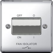 Nexus Fan Isolator 3P Polished Chrome