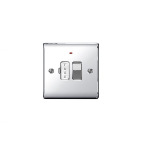 BG Electrical Nexus Spur Switch Neon Polished Chrome