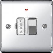 Nexus Spur Switch With Power Indicator Polished Chrome