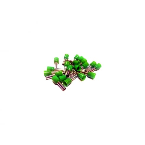 SWA Specialised Wiring Accessories Bootlace Ferrules Green 6.0mm