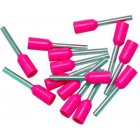 SWA Specialised Wiring Accessories Bootlace Ferrules Pink 0.3mm