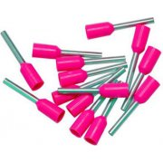 Bootlace Ferrules Pink 0.3mm