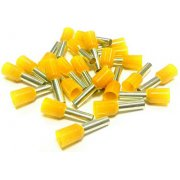 Bootlace Ferrules Yellow 1.0mm