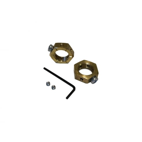 SWA Specialised Wiring Accessories Brass Earthing Nut 32mm
