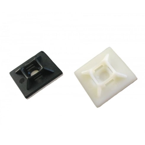 Cable Tie Base Self Adhesive Natural