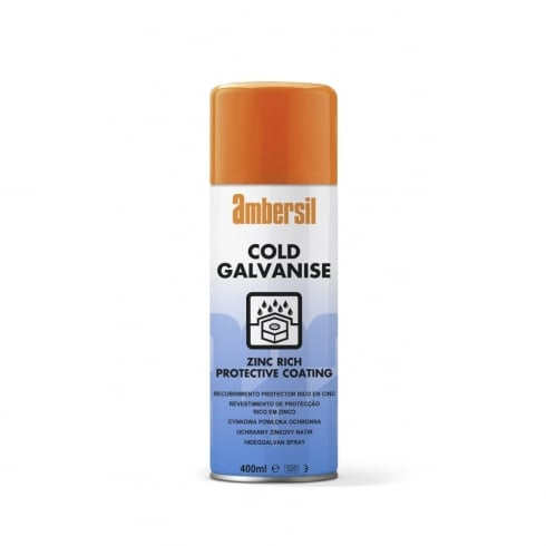 Ambersil Cold Galvanise Spray
