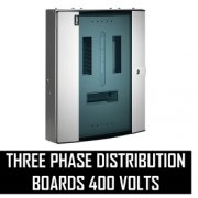 Three Phase Distribution Boards 400 Volts