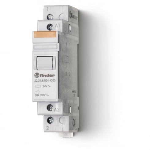 Finder Modular Relay 20A 230V AC