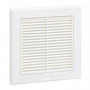 Fixed Grille 140mm White