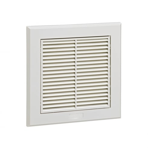 Manrose Fixed Grille 150mm Grey
