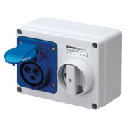 Interlock Socket 200-250V 16A