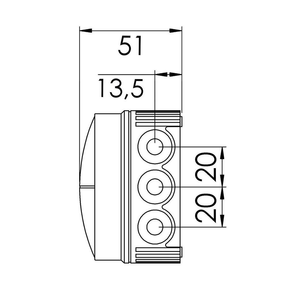 10061998black wiska combi 108  5 junction box from electramania online