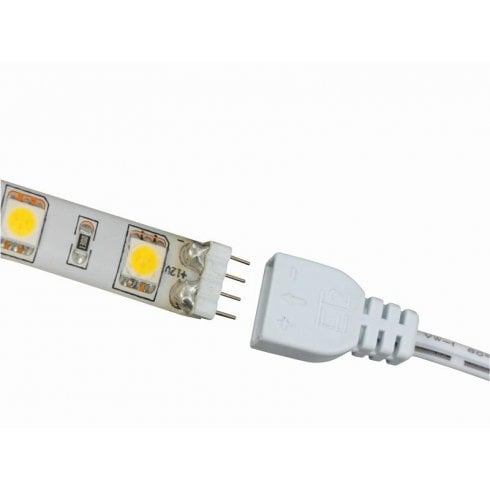 Ansell LED Mains Lead 1m