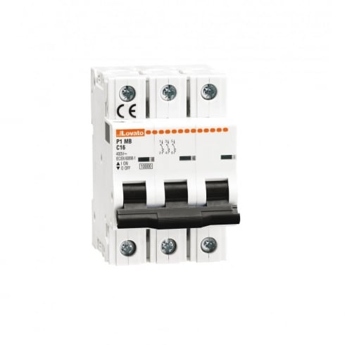 10A MCB 10kA Triple Pole Type D