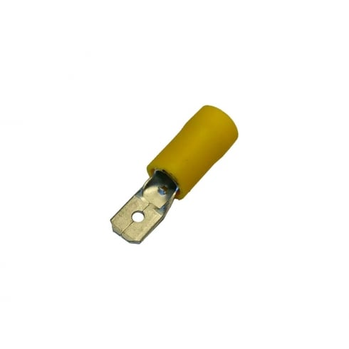 SWA Specialised Wiring Accessories Male Push-On Terminal Yellow 6.3mm