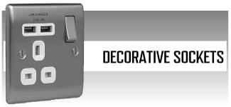 Decorative Sockets
