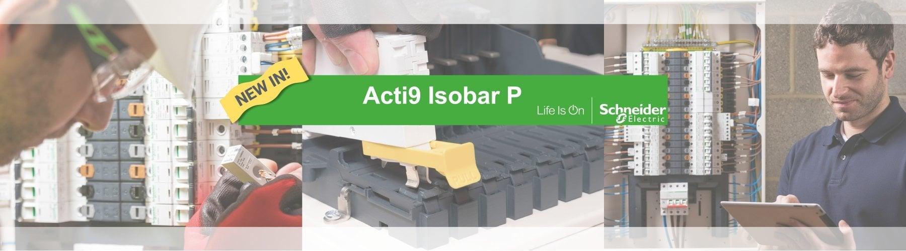 Schneider Isobar P banner