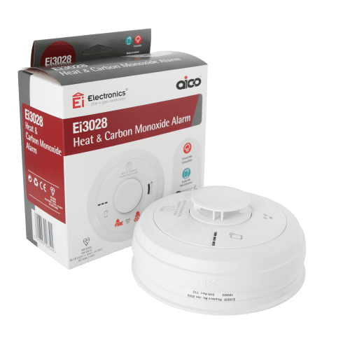 Aico Multi-Sensor Heat and Carbon Monoxide (CO) Alarm