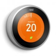 Nest Thermostat Stainless Steel