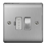 Nexus Spur Switch Brushed Steel Grey