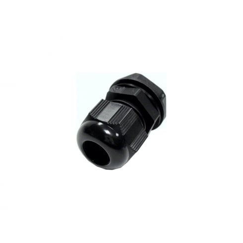 SWA Specialised Wiring Accessories Polyamide Cable Gland 12mm Blackl Black