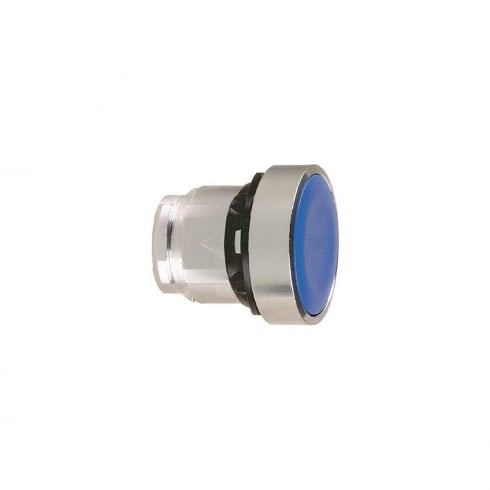 Telemecanique, Schneider Push Button Head Latching Blue