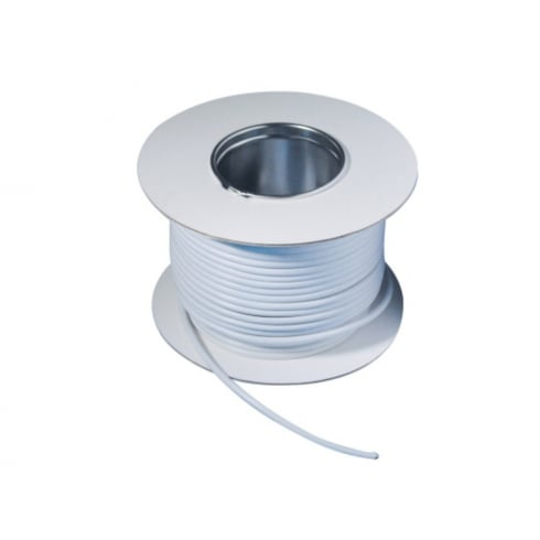Telephone Cable 4 Pair White 100 Metre Drum