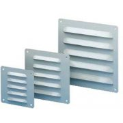 Metal Outlet Grille 120 x 120mm