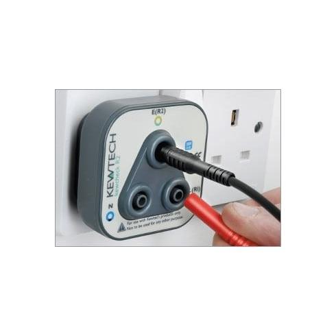 Kewtech Socket Testing Adaptor