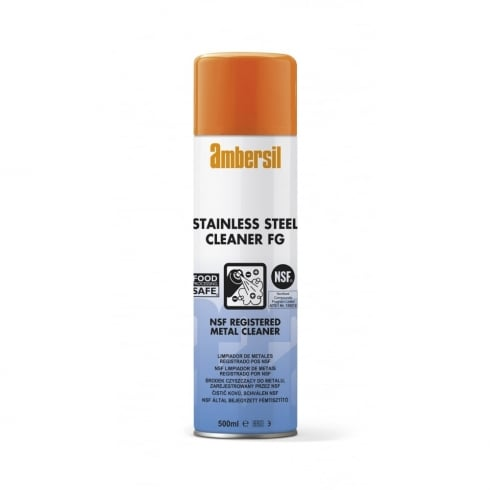 Ambersil Stainless Steel Cleaner FG