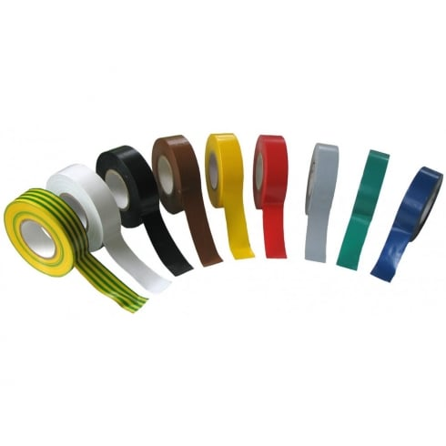 SWA Specialised Wiring Accessories PVC Tape 19mm x 33m Grey