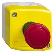 Yellow Complete Emergency Stop Control Station