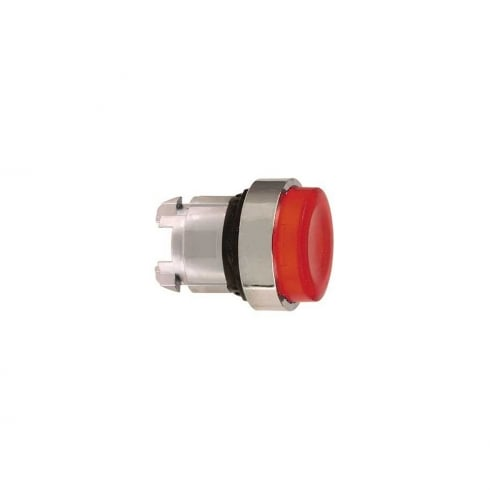 Telemecanique, Schneider Push Button Head Latching Red Illuminated