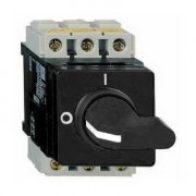Isolator 32A 3P Internal Black