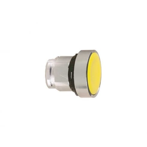 Telemecanique, Schneider Pushbutton Head Yellow