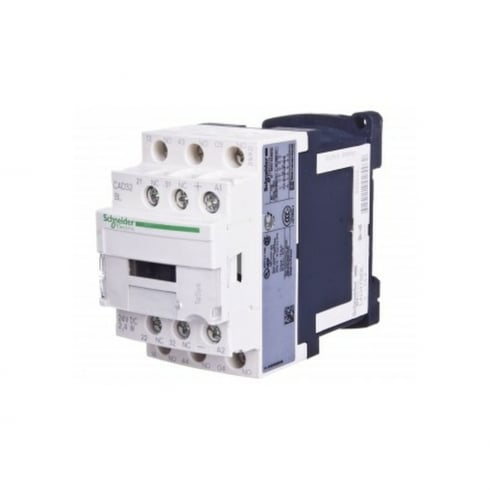 Telemecanique, Schneider Control Relay 3NO + 2NC 24V DC Low Consumption