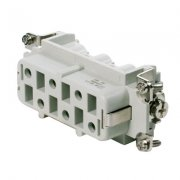 6 Pin HDC Female Insert 400V